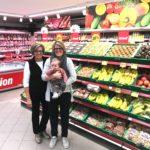 Früchte und Gemüse, Regula Annen und Elin Inderbitzin-Annen mit Lena